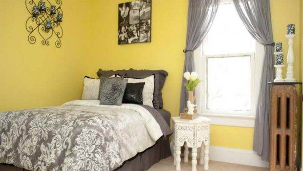 Yellow Bedroom Ideas Decorating Walls