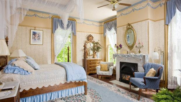 Yellow Blue Bedroom All Things Victorian Pinterest