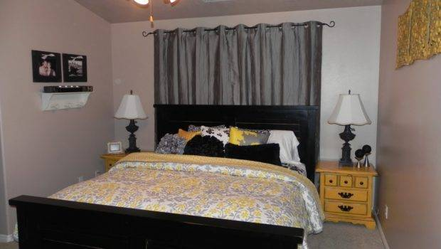 Yellow Gray Master Bedroom Chelsea Feature Friday
