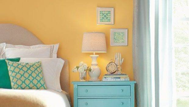 Yellow Walls Bedroom Modern Style Home Design Ideas