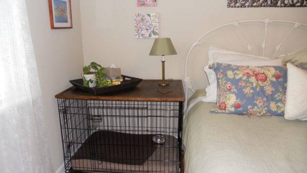 Your Dog Crate Turning Into Bedside Table