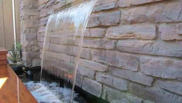 Yourself Stone Wall Garden Water Feature Diymegastore