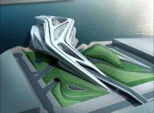 Zaha Hadid Performing Arts Center Abu Dhabi