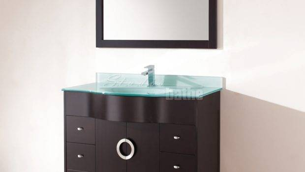 Zoe Inch Contemporary Bathroom Vanity Espresso Finish
