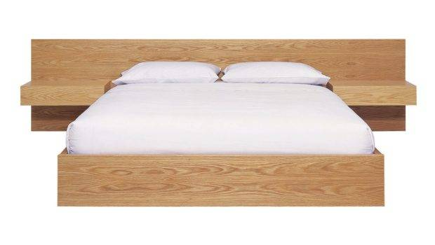 Zuster Furniture Raw Bed Extended Bedhead